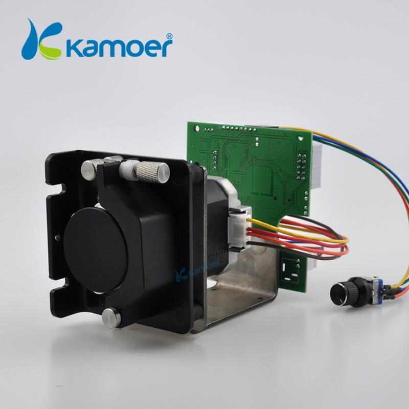 Kamoer KCS stepper motor peristaltic pump with control board (Adjustable flow ) kamoer 12v mini peristaltic pump stepper motor with higher flow rate