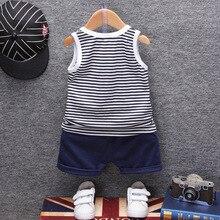 Fashion Boys And Girls Summer Clothing 2Pcs Kids Set