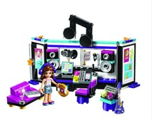 Bela 10403 Friends Gril Pop Star Music Recording Studio Compatible With Bricks sets Building Block Toys