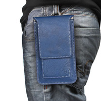 Vertical Belt Clip Leather Mobile Phone Case Pouch For Huawei P Smart Honor 9 Lite Honor