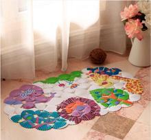 3D de Dibujos Animados de plástico alfombra de mosaico de la cáscara/Niño de baño estera de baño/cuarto de baño ducha colchoneta de masaje