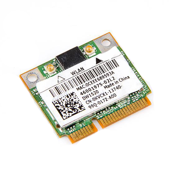 Original DELL <font><b>DW1520</b></font> Laptop wireless card Broadcom BCM943224 MINI PCIE Dual frequency image