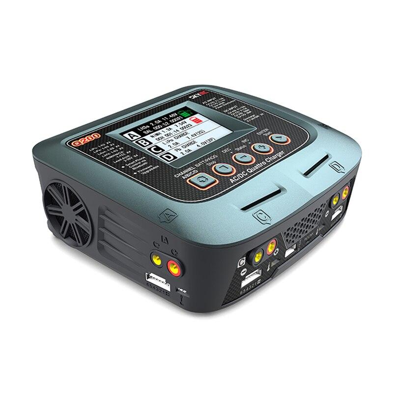 SKYRC Q200 intelligente Lader/Ontlader AC/DC Drone Balans Lader voor Lipo/LiHV/Lithium ijzer /Ion/NiMH/NiCD/lood zuur batterij-in Drone Batterij Opladers van Consumentenelektronica op  Groep 3
