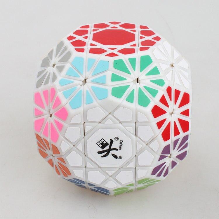 Nouveau Dayan Gem Cube VI Puzzle Cube noir et blanc professionnel PVC & mat autocollants Cubo Puzzle vitesse classique jouets livraison gratuite