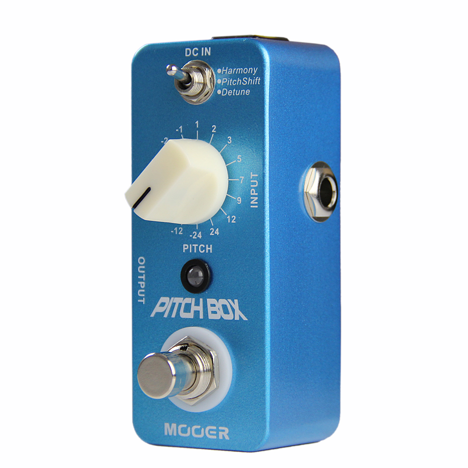 Mooer Pitch Box Harmony/ Pitch Shift/ Detune Guitar Effects Pedal Ture Bypass Guitar Pedal Guitar Accessories mooer hustle drive overdrive guitar effects pedal true bypass guitar pedal guitar accessories