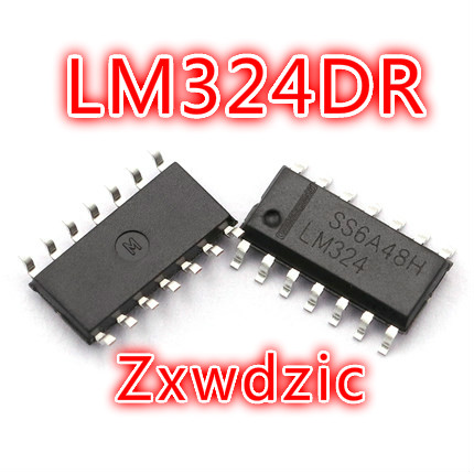 500PCS LM324DR SOP14 LM324 SOP SMD LM324DR2G LM324DT new and original