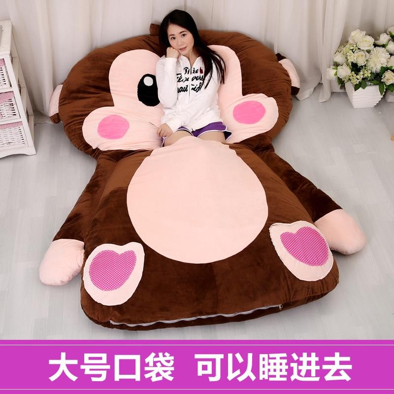 Schöne Und Komfortable Größe Der Königin Volle Kissen Geschenke Für Kinder Cartoon Affe Cartoon Matratze