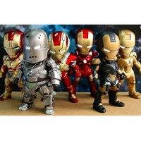 Justice League Superhero The Avengers 6pcs Set Iron Man PVC Models Action Figure Collectible Model Toy
