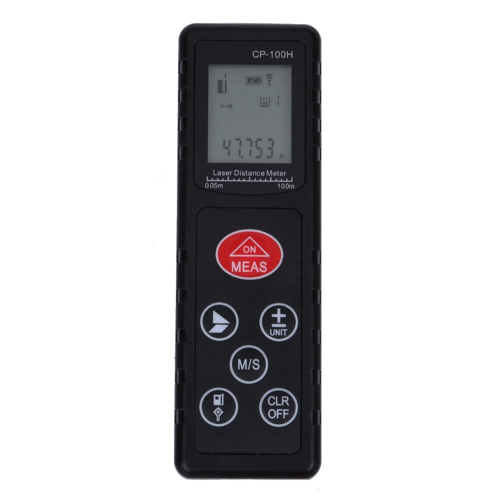 100M Handheld Digital Laser Rangefinders Distance Portable Meter Range Finder Diastimeter Outdoor Build Measure Device Ruler  цены