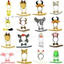 enfants Animal nœud carnaval
