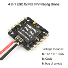 купить 20x20mm 15A Blheli_S BB2 2-4S Dshot 4 In 1 ESC for RC FPV Racing Drone по цене 1793.06 рублей