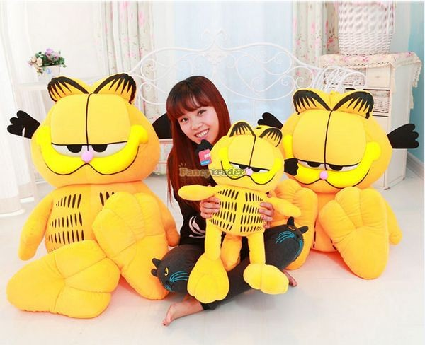 Fancytrader 49\'\' 125cm Super Funny Big Stuffed Soft Plush Lovely Giant Garfield Cat, Free Shipping FT50713 (4)
