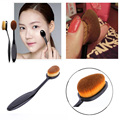 Makeup Powder Brush Foundation Brush Oval Face Powder Blusher Eyeliner Toothbrush-shaped Make Up Brushes Cosmetic Tools