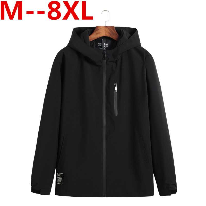 Plus size 10XL 9XL 8XL 6XL 5XL 4XL Male Jacket Spring Autumn Quality Brand Windproof Jac ...