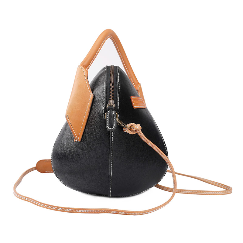La Marque Parti Sac Femmes Cuir Designer Vache Mini Messenger Femelle Portable Épaule Noir Sacs Ronde À En orange De Shell Main XN0OkPZ8nw