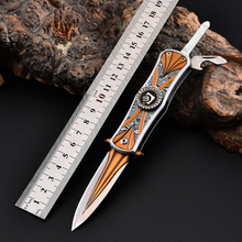 Swiss Tactical Knife Survival knife blade Stainless Steel  hunting knife Outdoor Camping Pocket EDC Knife Multi-function knife недорого