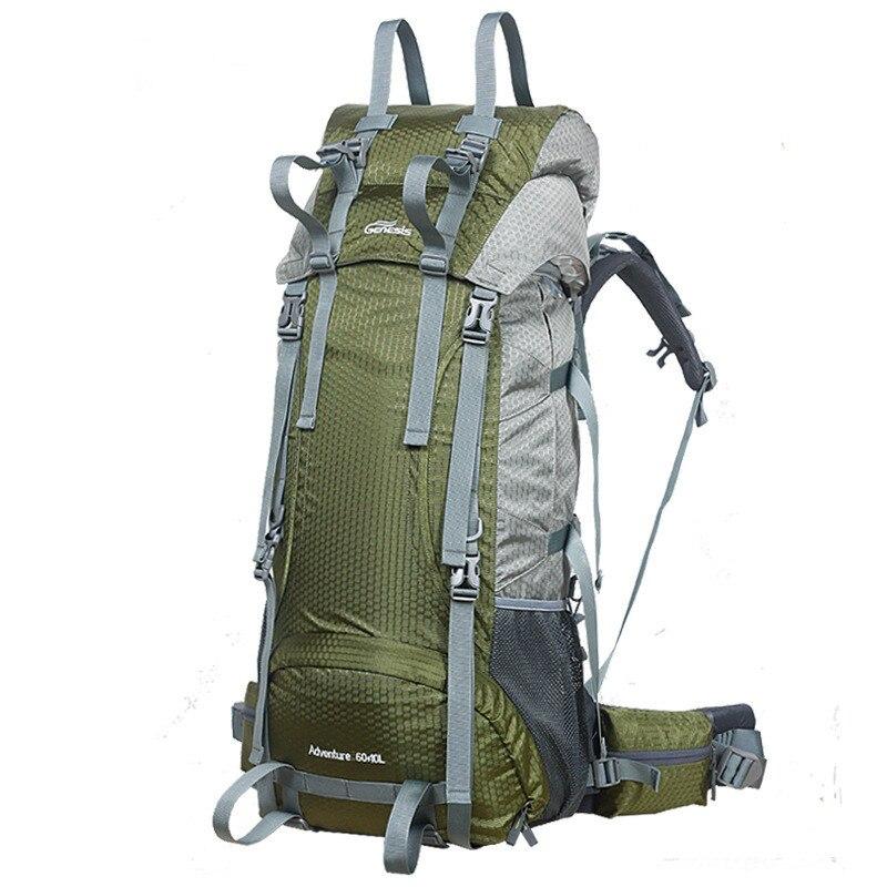 Sac d'alpinisme 75L Sports de plein air Camping sac à dos imperméable voyage randonnée aventure tourisme multifonction sacs militaires