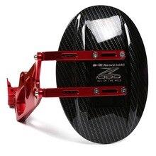 Rear Wheel Tire Fender Rear Fender Bracket Mudguard Splash Mud Dust Guard Fender Shield Carbon For Kawasaki Z1000 2010-2016 cnc aluminum carbon fiber rear mud guard panel fender mudguard for kawasaki z1000 z1000sx 2010 2011 2012 2013 2014 2015 2016