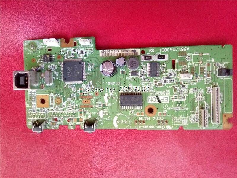 140861 2158980 PCA ASSY carte mère carte mère carte mère pour Epson L110 L111 L300 L301 L303 ME10 L312 Formatter carte mère