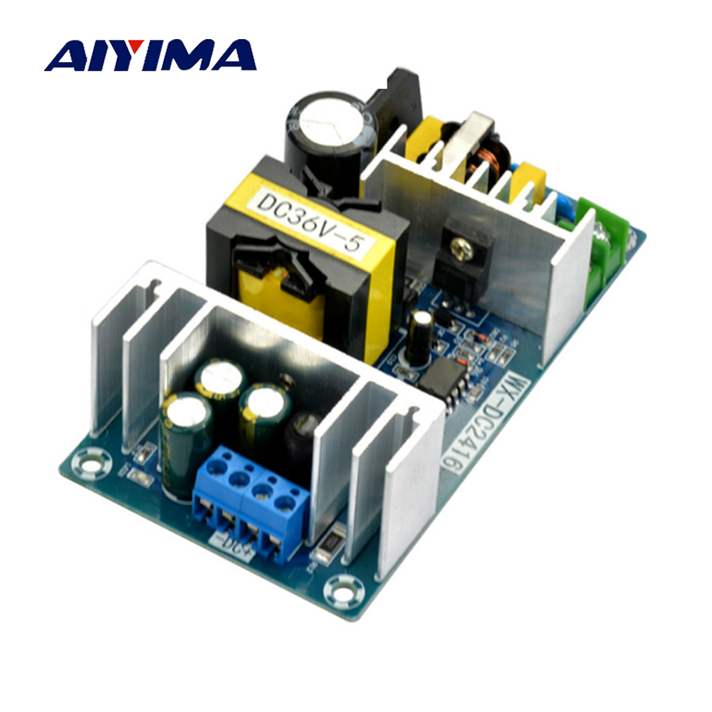 Aiyima 36V 180W AC-DC Switching Power Supply Board High Power Industrial Power Supply Module aiyima 36v 180w ac dc switching power supply board high power industrial power supply module