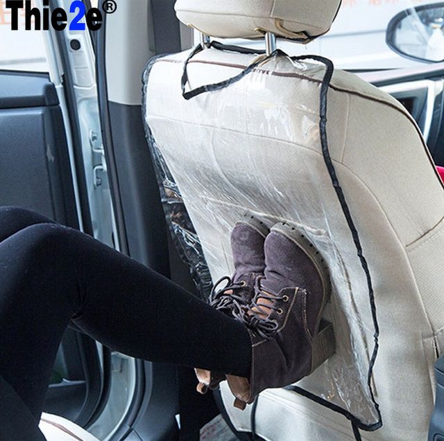 Thicken Environmental PVC Cover Car Back Seat Protector Kicking Mat For Kids Child Seats