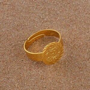 Image 5 - עתיקות קטן מטבע טבעת לנשים, משלוח גודל מטבעות ילדה אמצע מזרח תכשיטי מוסלמי אסלאמי סיטונאי מטבעות ערבית #139306
