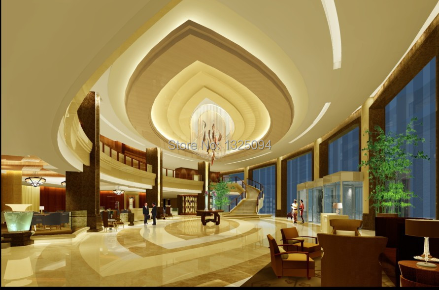 Chinese Classical Design of Interior Decor Gypsum Cornice Moulding
