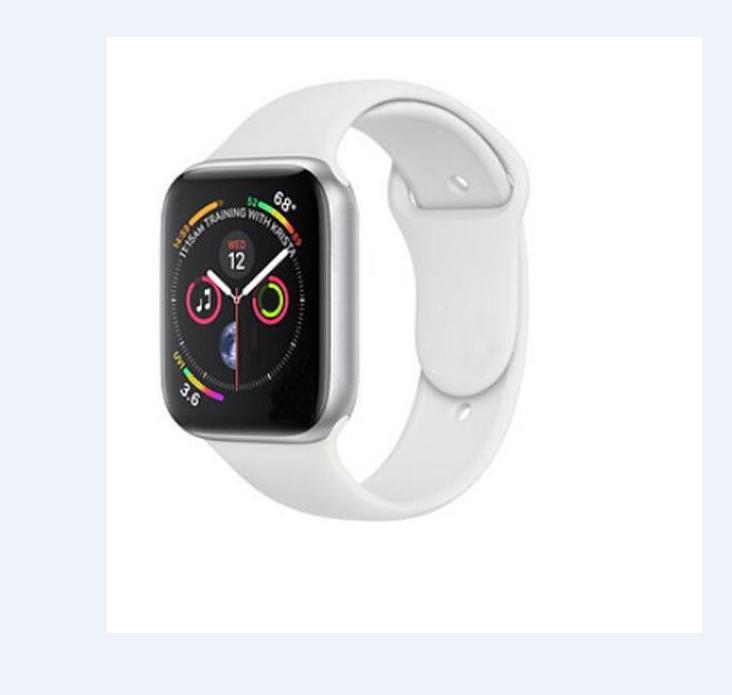42mm montre intelligente chargeur sans fil Bluetooth IWO série 4 SmartWatch boîtier pour Apple iOS iPhone Xiaomi Android téléphone intelligent