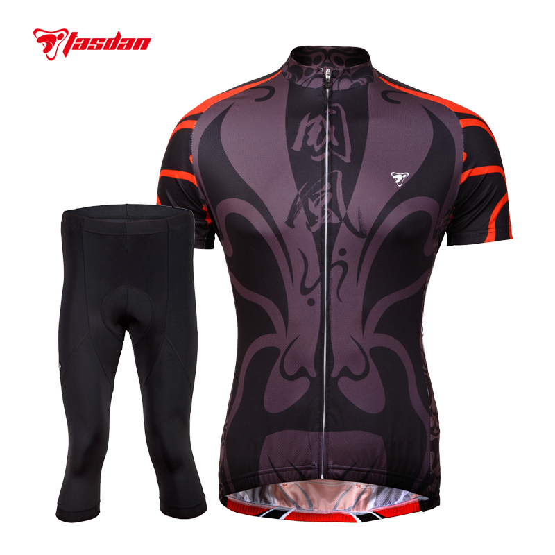 Tasdan Brand Mens Cycling Sets Quick Dry Breathabl Cycling Shorts Gel Pad Bike Wear Cycling Base Layers Bicycle Jersey Sets цена и фото