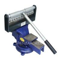1 шт. небольшой ручной гибочная машина Micro складные машины гибки малый барабан потока машина применяется Ширина 300 мм