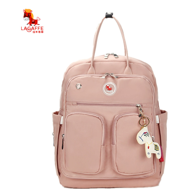 3Colors Fashion Diaper Bag Multi-function Solid Maternity Nappy Bag Brand Baby Bag Travel Backpack Nursing Bag 6 colors free shipping multi function inner container hobos nappy diaper baby diaper predelivery bags backpack hanging page 9