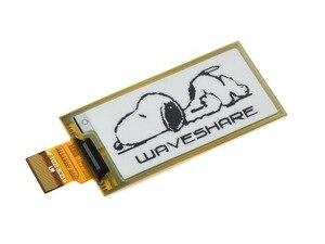 Image 2 - Waveshare encre électronique flexible, 212x104,2.13 pouces, affichage brut, couleurs noir/blanc, interface SPI, sans PCB, pour Raspberry Pi 2B/3B/Zero W