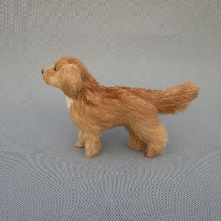 new simulation yellow dog polyethylene & furs standing model doll gift about 26x7x17cm 302 new simulation sleeping dog plastic&fur black&white dog model gift about 36x25x14cm a81
