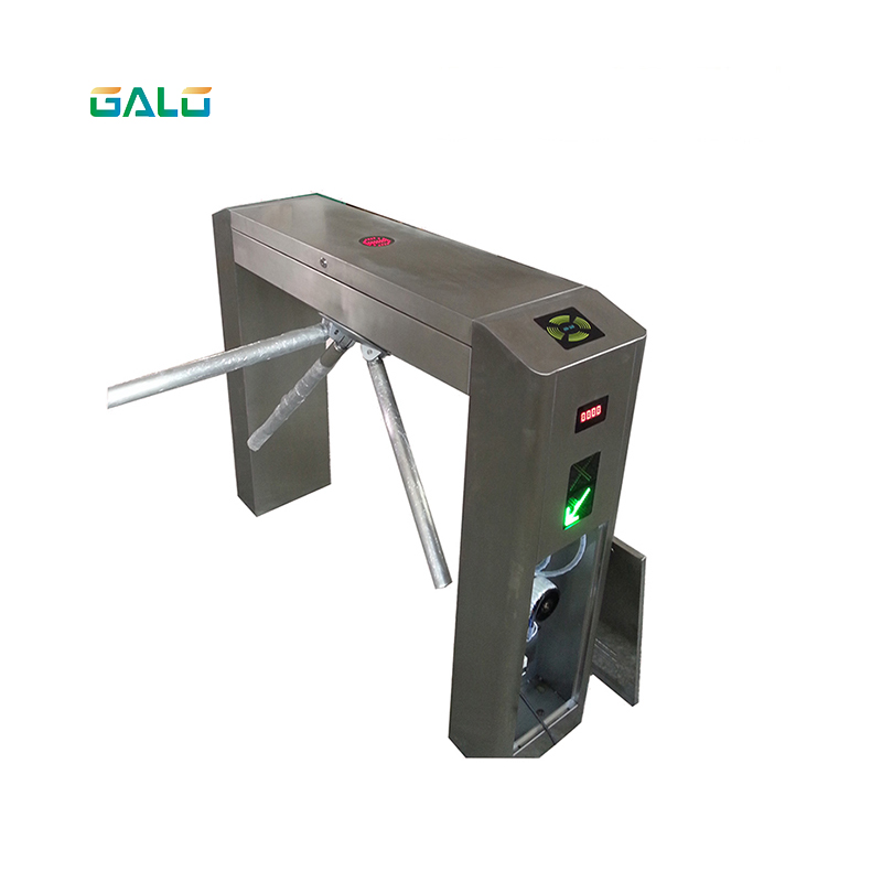 Automatic Pedestrian Waist 304 Stainless Steel Electronic Price Tripod Entrance Turnstile