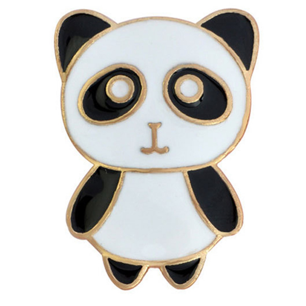 1 Pcs Cartoon Cute White Cat Metal Brooch Button Pins Denim Jacket Pin Jewelry Decoration Badge For Clothes Lapel Pins To Enjoy High Reputation In The International Market Arts,crafts & Sewing Badges