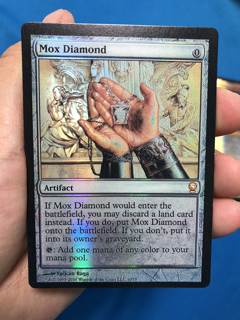 Mox Diamond From The Vault: Relics Foil Magician ProxyKing 8.0 VIP The Proxy Cards To Gathering Every Single Mg Card.