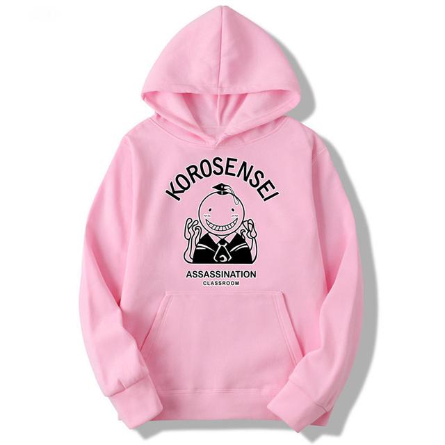 Assassination Classroom Korosensei Anime Hoodies Men And Women Autumn Casual Pullover Sweats Hoodie Fashion Sweatshirts MWT102