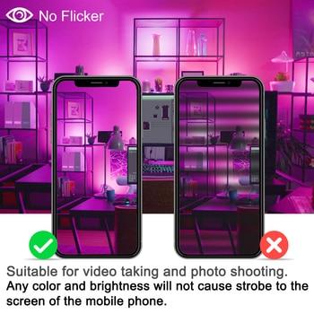 Projetor Inteligente Conduziu A Luz Exterior Rgb 15 W Bluetooth4.0 360 ° App Grupo Controle Ip66 Jardim à Prova Dspotlight água Cor Mudando Holofotes