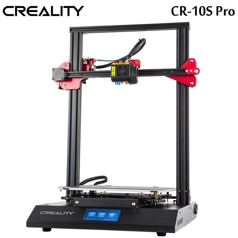 2018 CREALITY 3D Auto LevelingCR 10S Pro Printer 4 3inch Touch LCD Resume Printing Filament Detection