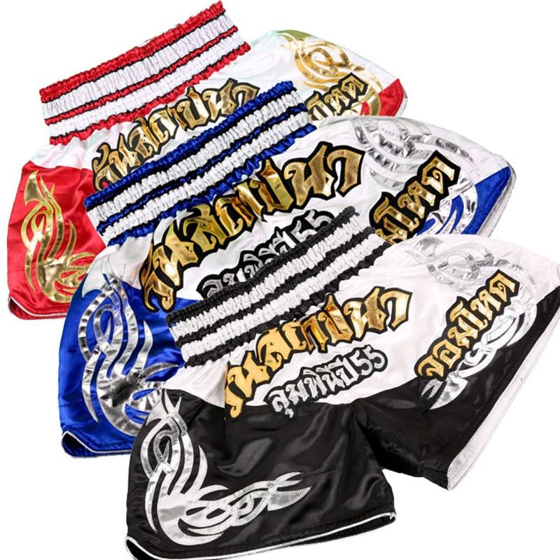 Prix pour ANOTHERBOXER muay thai MMA shorts muay thai costume les hommes et enfants sport troncs de boxe prendre lutte de boxe MMA shorts