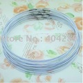 Wholesale1mm Wire Cable Steel Thread Beading Cord Rope Chain Choker Necklace DIY Findings 18""