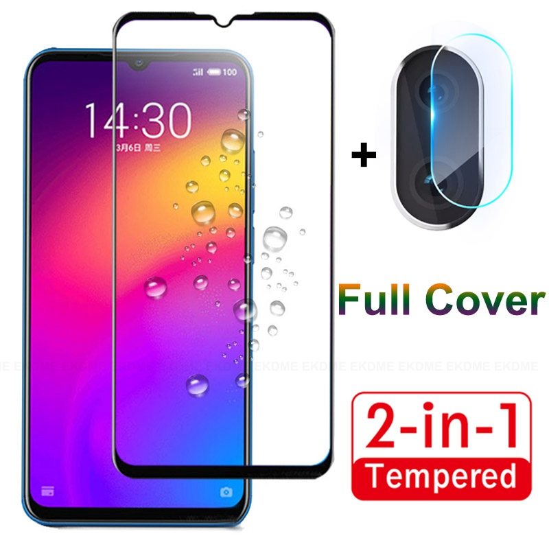 2 In 1 Full Cover Tempered Glass For Meizu Note 9 6.2