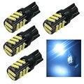 4 UNIDS T10 W5W de la Cuña 7014 7020 Chip de 11 SMD LED 168 194 921 2825 Auto Luz de la Matrícula 12 V Blanco Azul Rojo Amarillo Libre gratis