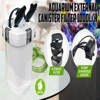 NCFAQUA 15 W 1000L/h SUNSUN HW-507B 4 этап внешний фильтр для аквариума с 9 W УФ стерилизатор для Aqua аквариум до 250L