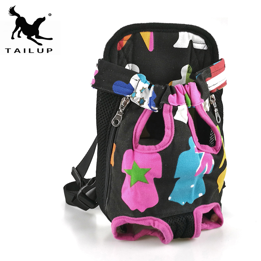 [tailup] Dog Cat Carrier Pet Products For Small Dog Carrier Puppy Cat Carry Backpack Dog Bag Handbags Hammock Backpack Py0002