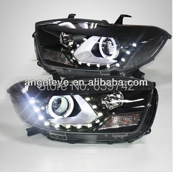 For TOYOTA Highlander LED Head light front light Head lamp 2009-2011 year TLZ