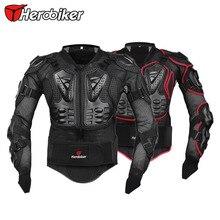 HEROBIKER Profesional Protector de Motocross Off-Road Moto Equipo de Protección Armadura Llena de Chaqueta Ropa S/M/L/XL/XXL/XXXL