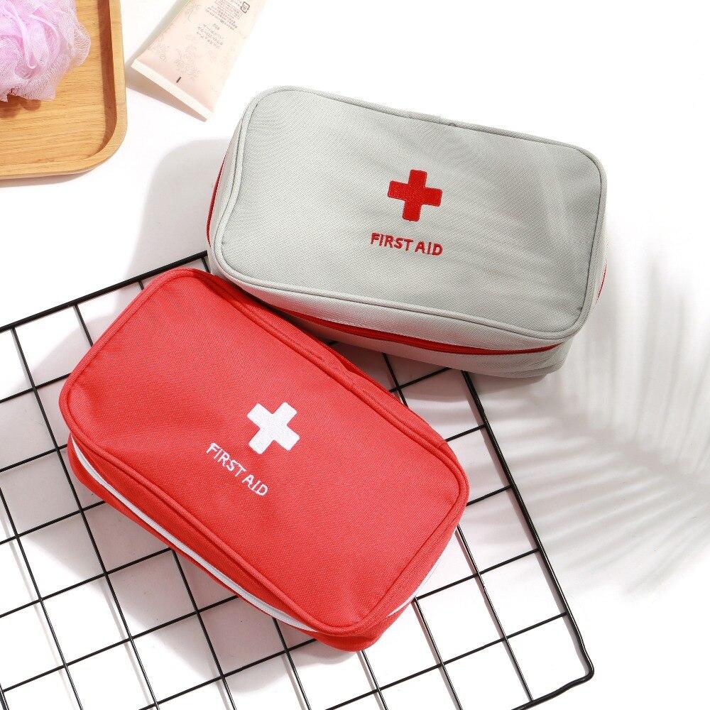 1 Stück Portable Verbandskasten Medizinische Notfallausrüstung Überlebens Tasche Jagd Reisetasche Startseite First Aid Emergency Medical Kit Gut FüR Antipyretika Und Hals-Schnuller
