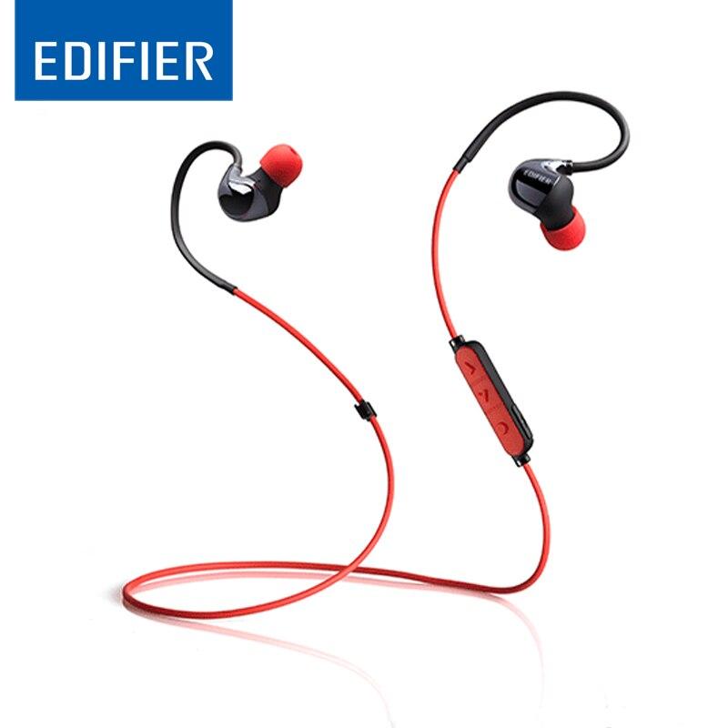 EDIFIER W295BT In ear Bluetooth Earphones Outdoor Sport Wireless Headset Setereo Sound Bluetooth Headset Memory Surround