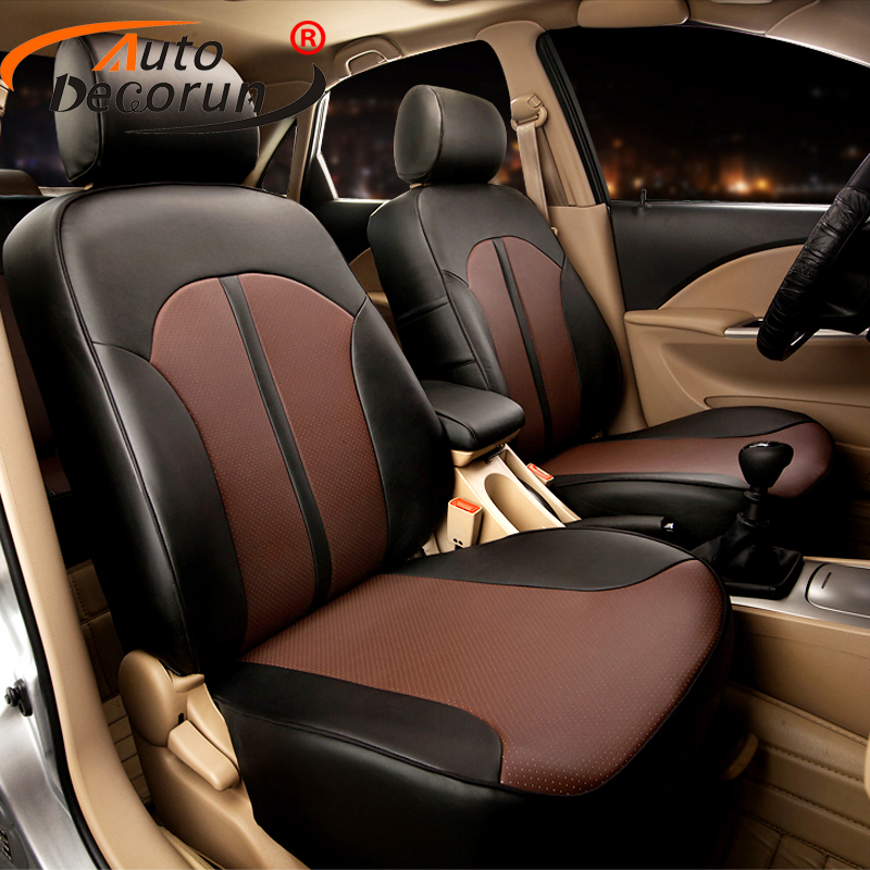 AutoDecorun Custom seat cover sets PU leather for Toyota Camry 2012 accessories seat cover car cushion support styling protector